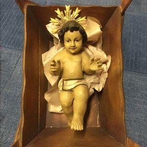 Wisteria Handcrafted nativity decor